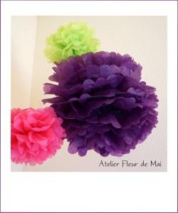 Pompons Atelier Fleur de Mai
