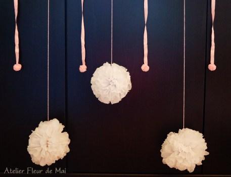 Guirlande pompons Atelier Fleur de Mai ok
